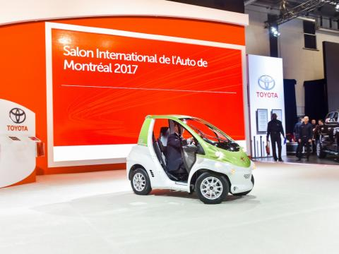 Salon International de l'Auto de Montréal 2017