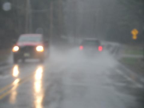 Five tips for driving safer in rain