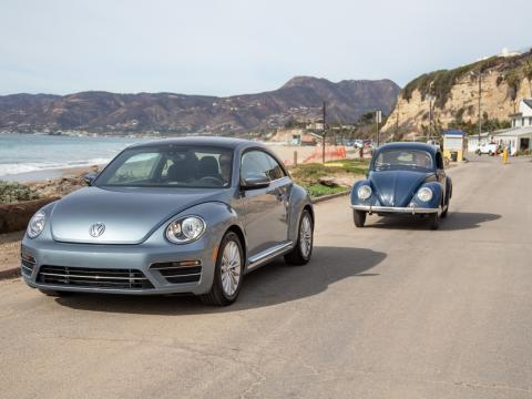2019 volkswagen beetle and type 1