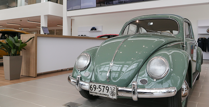 Old Bug at OpenRoadVW