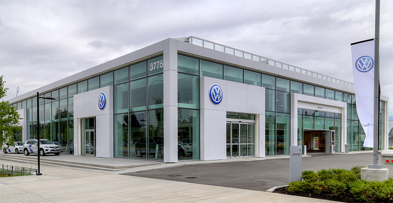 OpenRoad VW Store Front