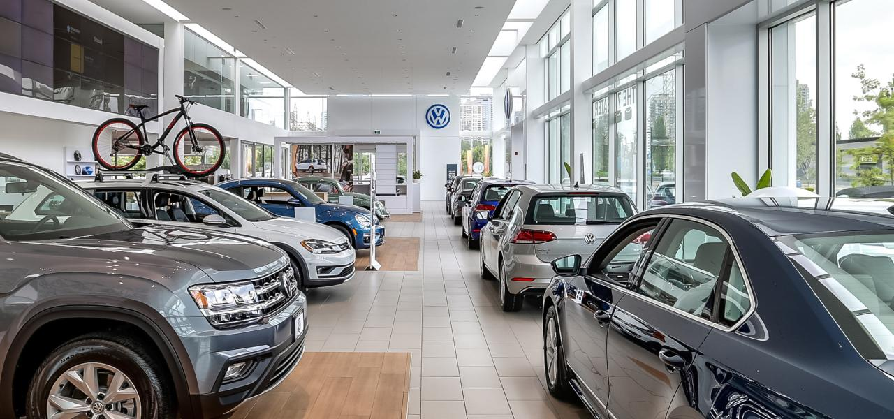 Largest VW Showroom in BC OpenRoad VW