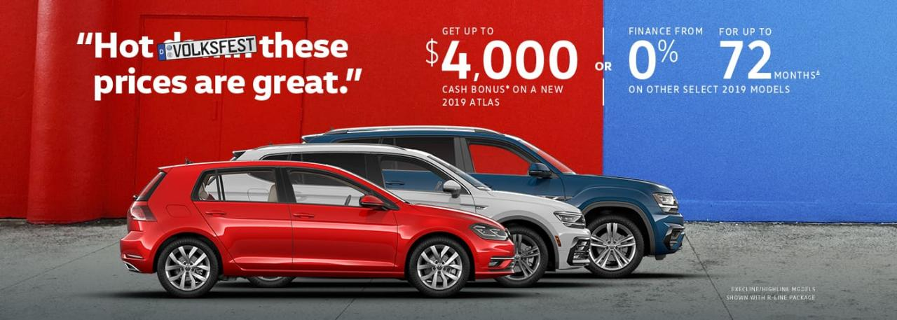 Volksfest Sales Event On Now at OpenRoad VW