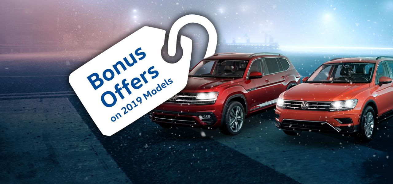 VW Winter Offers On Now